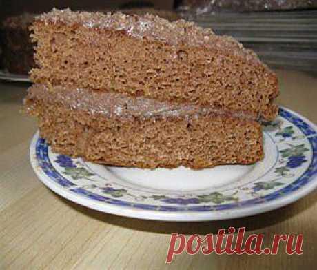 Легкий шоколадный бисквит (для торта «Прага») рецепт с фото, расчет калорийности рецепта, содержание белков, жиров, углеводов