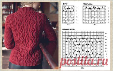 Схемы для вязания спицами двенадцати современных и модных кардиганов оверсайз | МНЕ ИНТЕРЕСНО | Яндекс Дзен
