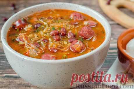 Капустняк - суп из квашеной капусты