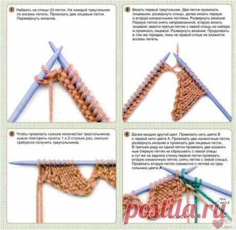 Техника вязания энтерлак. Создаем красоту быстро и просто! | Петелька | Яндекс Дзен