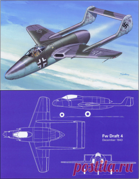 "Fоcke-Wulf Fw 226 ""Flitzer"" — проект недошедший до финиша"