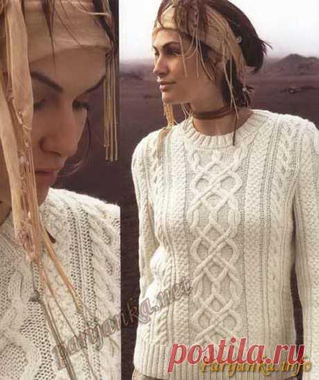Пуловер (ж) 06*397 Phildar №2500