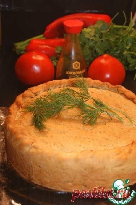 Ароматный пирог с капустой - кулинарный рецепт