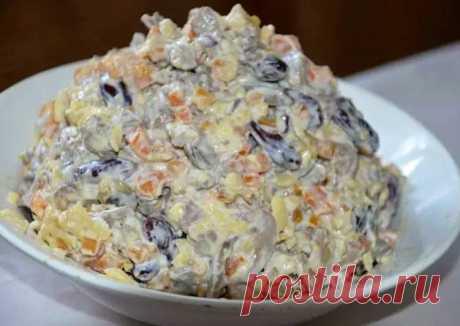 """Салат """"Пикантный"""" - пошаговый рецепт с фото. Автор рецепта Кристина . - Cookpad"""