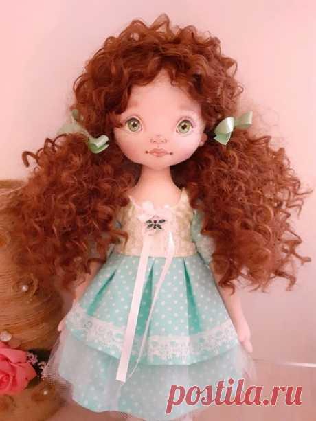 Авторские куклы от Лены Билецкой