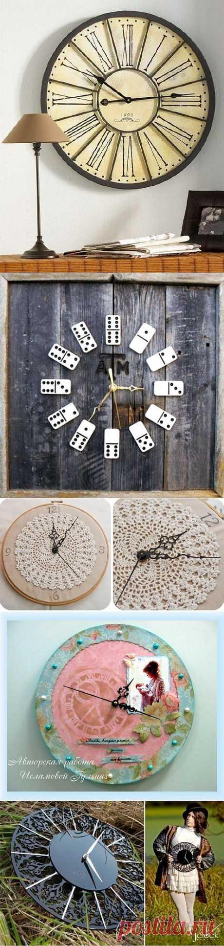 Такие разные часы (подборка) / Арт-объекты / ВТОРАЯ УЛИЦА