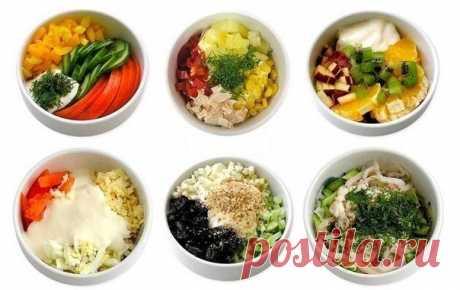 6 самых полезных и простых салатов