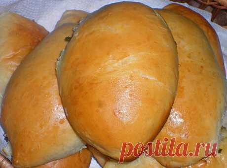 Пирожки со щавелем - рецепт с фото