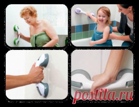 Набор для ванны «Поручень + сиденье» Обеспечивает безопасное купание для вас или ваших близких. С заботой о ваших близких Сиденье абсолютно безопасно! Оно надежно фиксируется в ванне Не соскальзывает, не елозит, не царапает покрытие Обладает гладкой поверхностью, без зазубрин