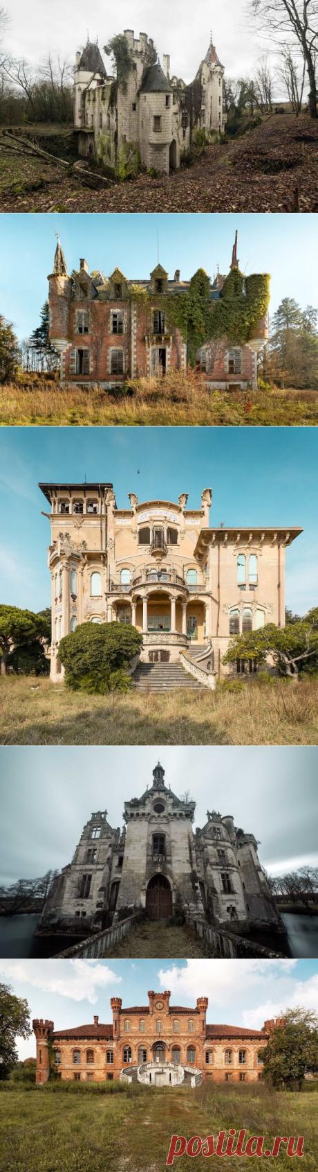 Красота заброшенных замков в фотографиях Дмитрия Буррио