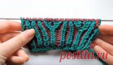 Вязание в технике бриошь (Brioche Stitch) Эта техника основана на вязании английской резинки, которую не умеет выполнять разве что ленивый. Но что может быть привлекательного в резинке?