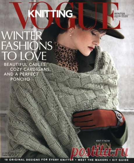 "Журнал ""Vogue Knitting"" Winter 2019/2020гг"