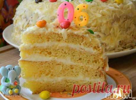 """Торт """"Мокрый"""" - Рецепты домашней кухни с пошаговыми фотографиями и подробным описанием. Новые рецепты каждый день. Конкурсы рецептов - Ням.ру"""