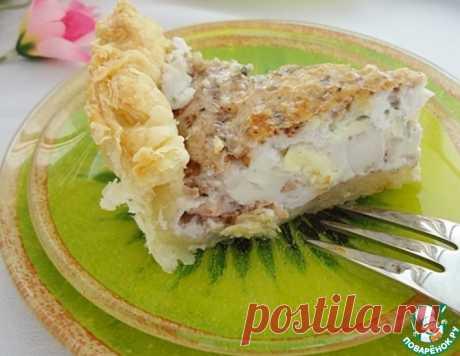 Пирог с сырно-ореховым суфле – кулинарный рецепт