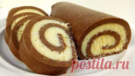 Very Tasty roll of Baunti. Without pastries only in 15 minutes - Simple recipes of Овкусе.ру