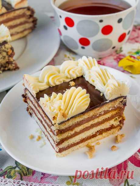 """Рецепт торта """"Ленинградского"""" на Вкусном Блоге"""