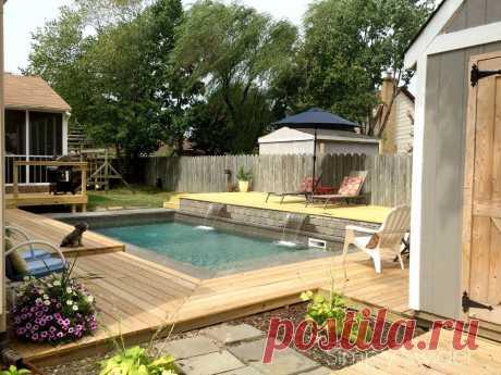 ВАУ. 11 мечтательные Идей для людей, которые Backyard бассейнов | Hometalk
