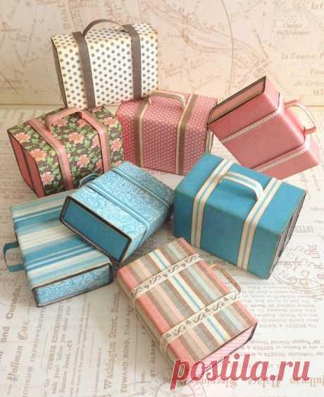 Миниатюрные чемоданчики