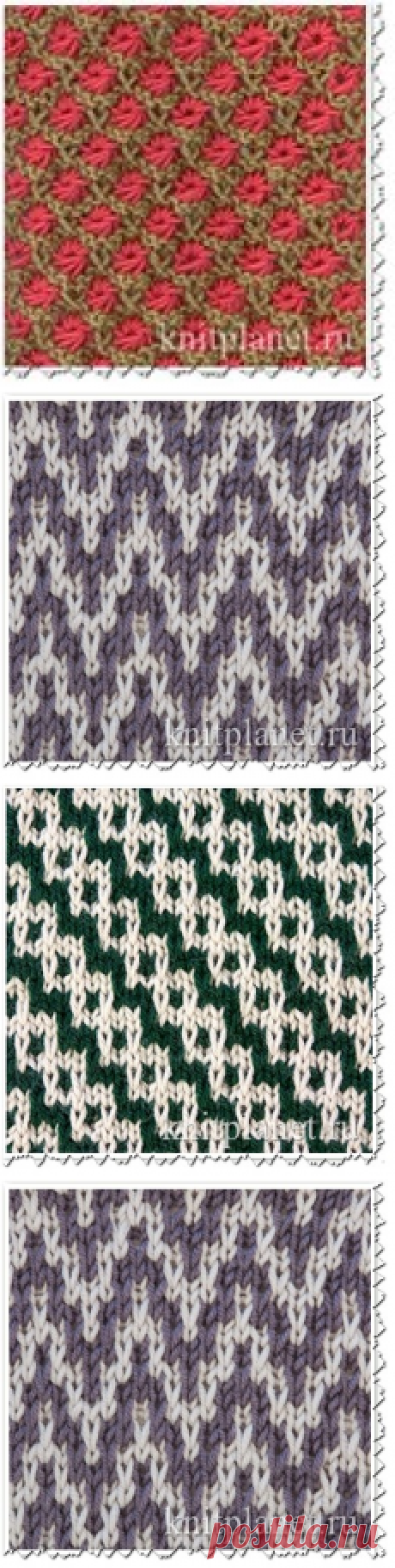 Lazy jacquard patterns. Discussion on Blogs on Work