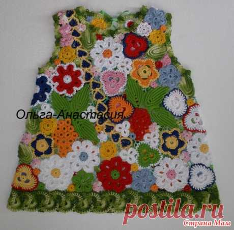 Children's &quot dress; All лета&quot paints; - Knitting - the Country of Mothers