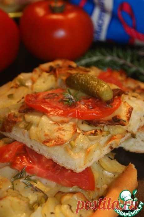 Пицца от двух шефов –рецепт Натапит