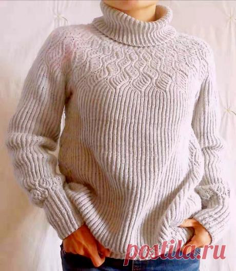 Вязаный свитер WithWinter | ДОМОСЕДКА