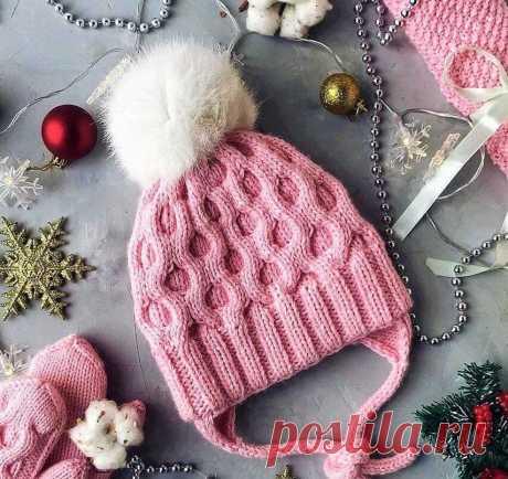 Красивые детские шапки: 3 модели с описанием вязания | Идеи рукоделия | Яндекс Дзен