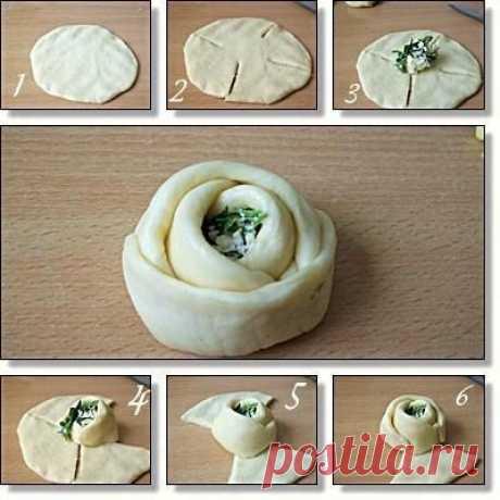Разделка теста : способы формирования пирогов, пирожков и булочек   Четыре вкуса