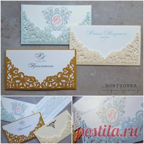 Свадебные приглашения на заказ купить ручной работы Минск