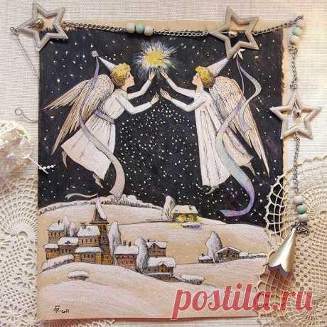 С Рождеством Христовым! Пусть в Ваших семьях будет мир и добро! А наша путеводная звезда🌟 ведет нас к добру, искренности и счастью !