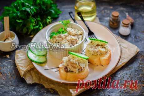 Рийет из скумбрии - рецепт с фото пошагово