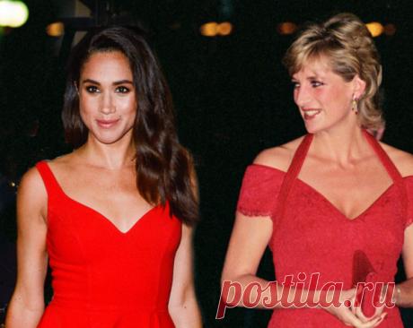 Вам не кажется, что Меган Маркл и покойная принцесса Диана очень похожи? Может именно схожесть актрисы с мамой принца Гарри вскружило ему голову?
