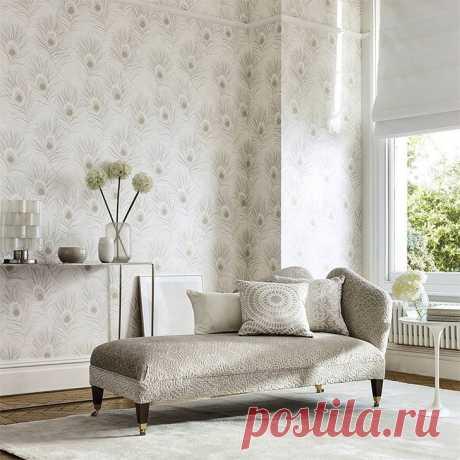Одуванчики, листья и цветы: новая коллекция обоев Paloma от Harlequin - Дизайн интерьеров   Идеи вашего дома   Lodgers