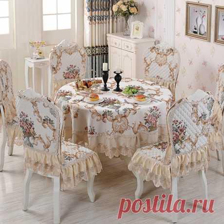 Скатерть для обеденного стола с гордой розой синели, европейская скатерть для обеденного стола, чехлы для подушек, круглые скатерти-in Скатерти from Дом и животные on Aliexpress.com | Alibaba Group