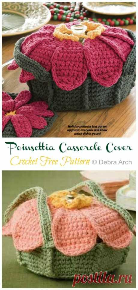 Crochet Casserole Carrier Free Patterns [Instructions]