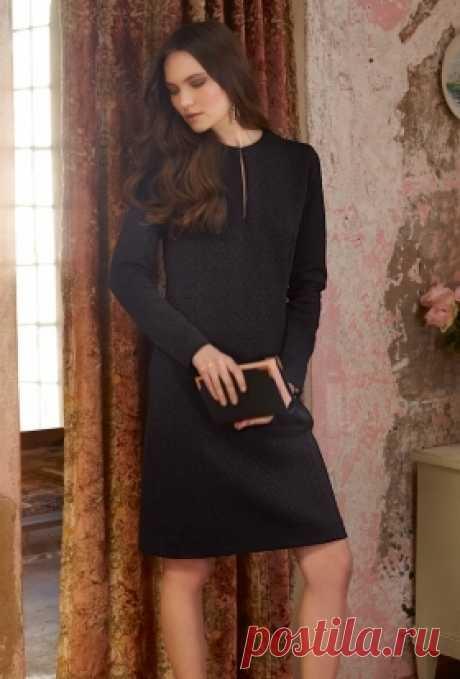 4d49defcbe0 Платье с рельефными швами - выкройка № 102 из журнала 9 2014 Burda –  выкройки