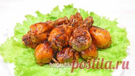 Курица в соево-медовом соусе — ХОЗЯЮШКА