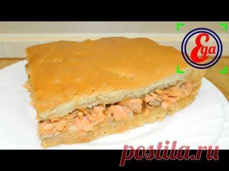El pastel con los peces cartilaginosos