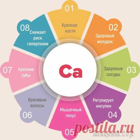 Lack of calcium of an organism – symptoms, treatment, prevention