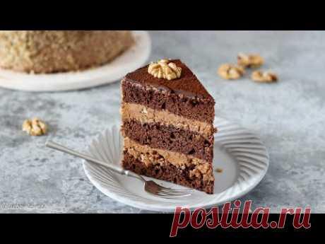 Любимый ШОКОЛАДНЫЙ торт из ДЕТСТВА ✶ ПРОСТО и очень ВКУСНО