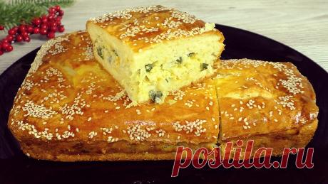 Заливной пирог, вместо пирожков, можно готовить хоть каждый день: только начинку меняй (проверенный рецепт) | Красилова Наталья / Food | Яндекс Дзен