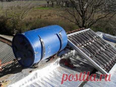 КАК СДЕЛАТЬ СОЛНЕЧНЫЙ ВОДОНАГРЕВАТЕЛЬ ИЗ ПЛАСТИКОВЫХ БУТЫЛОК ЗА 6 ШАГОВ      Инженеры из далекой аргентинской провинции Тукуман разработали простой и дешевый солнечный водонагреватель из нескольких десятков пластиковых бутылок. И написали подробную инструкцию, которая ста…
