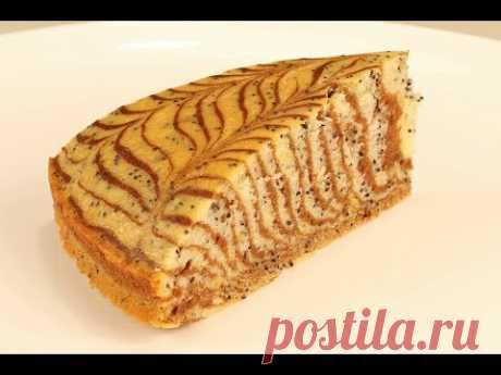 Красивый И Вкусный  Пирог Из Ничего! Находка Для Постящихся!