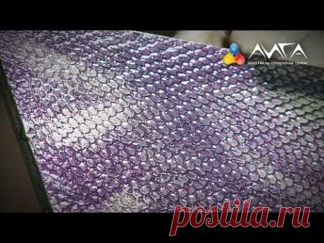 69. Effect of a snakeskin on MDF - YouTube