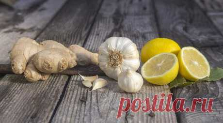 Имбирь, лимон и чеснок — великолепная троица от коронавируса? — Интересные советы