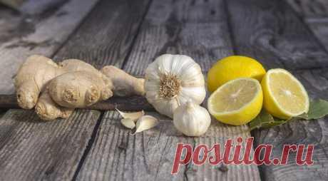 Имбирь, лимон и чеснок — великолепная троица от коронавируса?