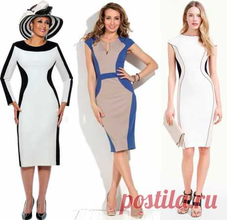 Моделируем платье, которое стройнит