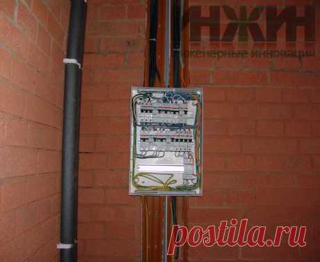 Монтаж электропроводки в кирпичном доме 481