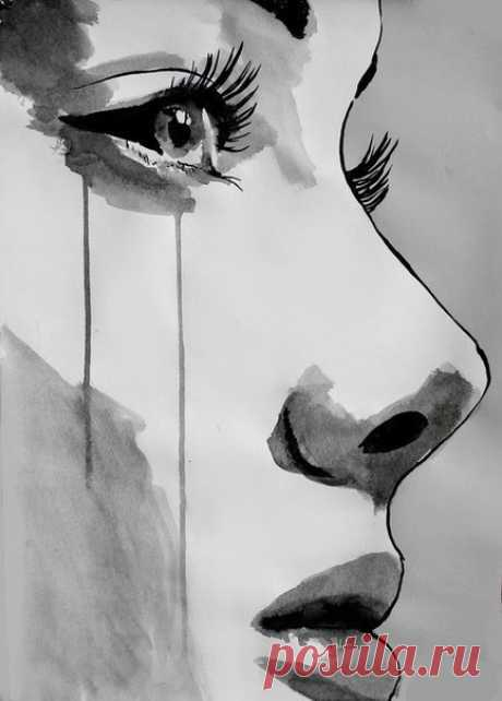 В душе дождь, в глазах улыбка, в сердце боль, на лице покой и никто не узнает, какая пытка, ждать и любить... Но не быть с тобой.