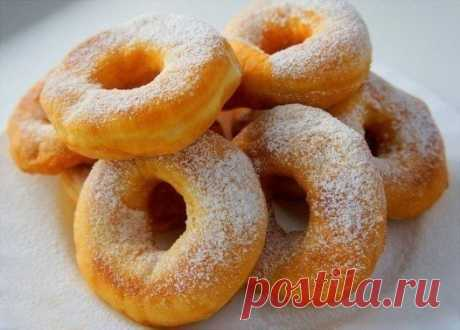 Как приготовить воздушные пончики - рецепт, ингредиенты и фотографии